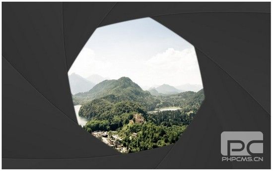 Shutter Effect Portfolio with jQuery and Canvas
