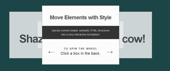 Roundabout jQuery Slider